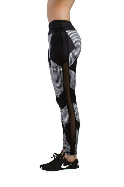 cc3376b1bd862 Carbon Design Leggings - Black - Carbon Fitness Apparel | Workout ...