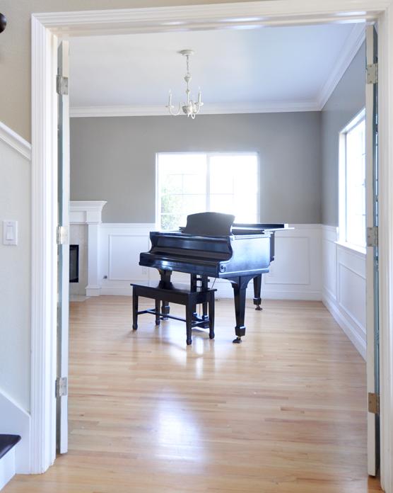 No Longer Blue Centsational Girl Light Wood Floors Grey Wood Floors Living Room Paint Colors For Living Room