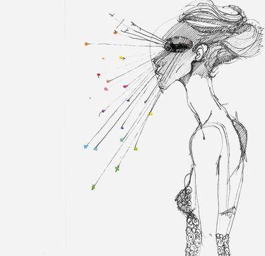 "Saatchi Art Artist Luigi Ciuffreda; Drawing, ""ERA."" #art"