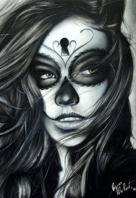 Ideen Deep 48 New Ideas Chicano Tattoos Chicano Art Kunst Tattoos Day Of The Dead Girl Day Of The Dead Mask Los Muertos Tattoo Sugar Skull Tattoos Hand Tattoos Sleeve Tat...