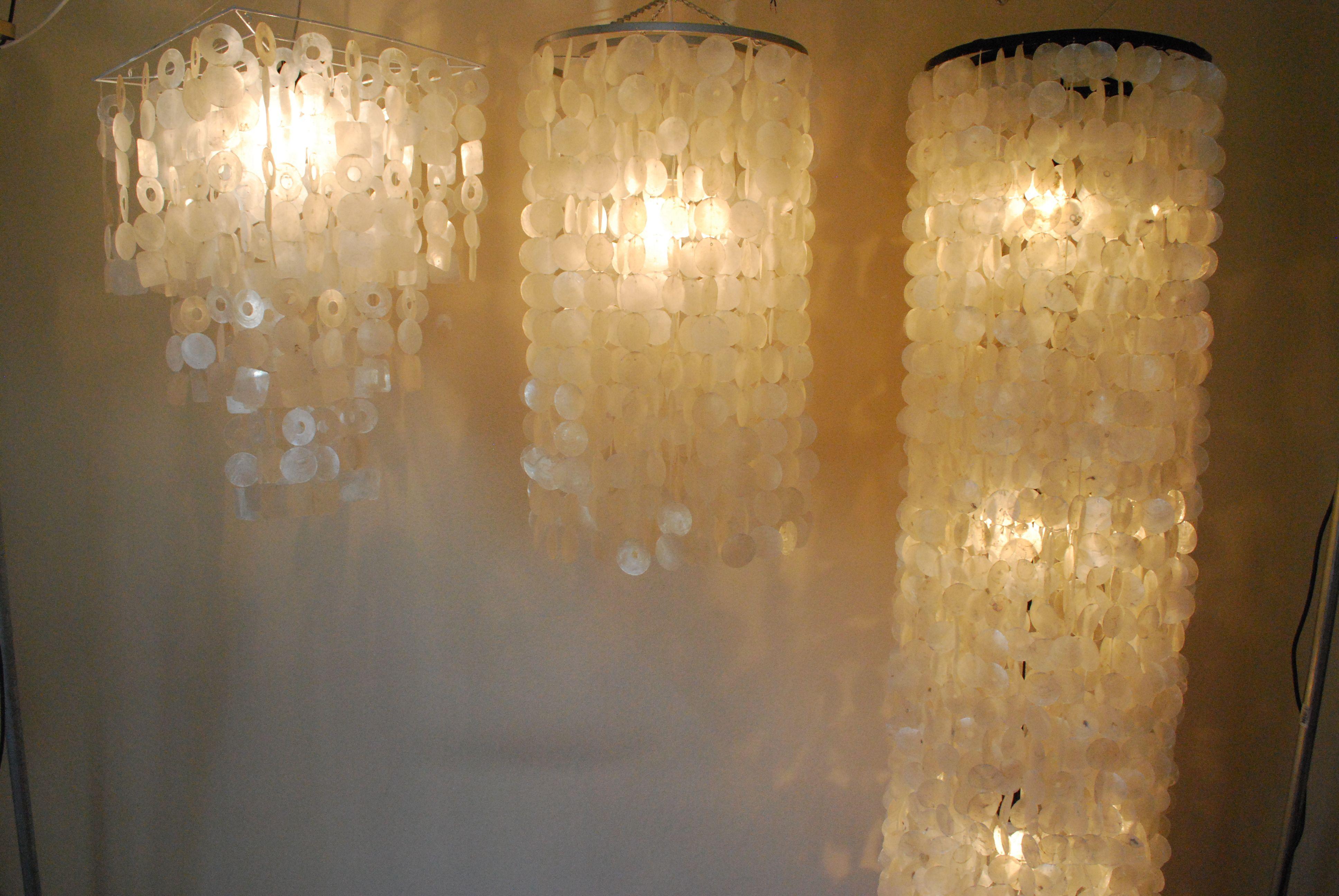 schelpenlampen van HippeSfeer