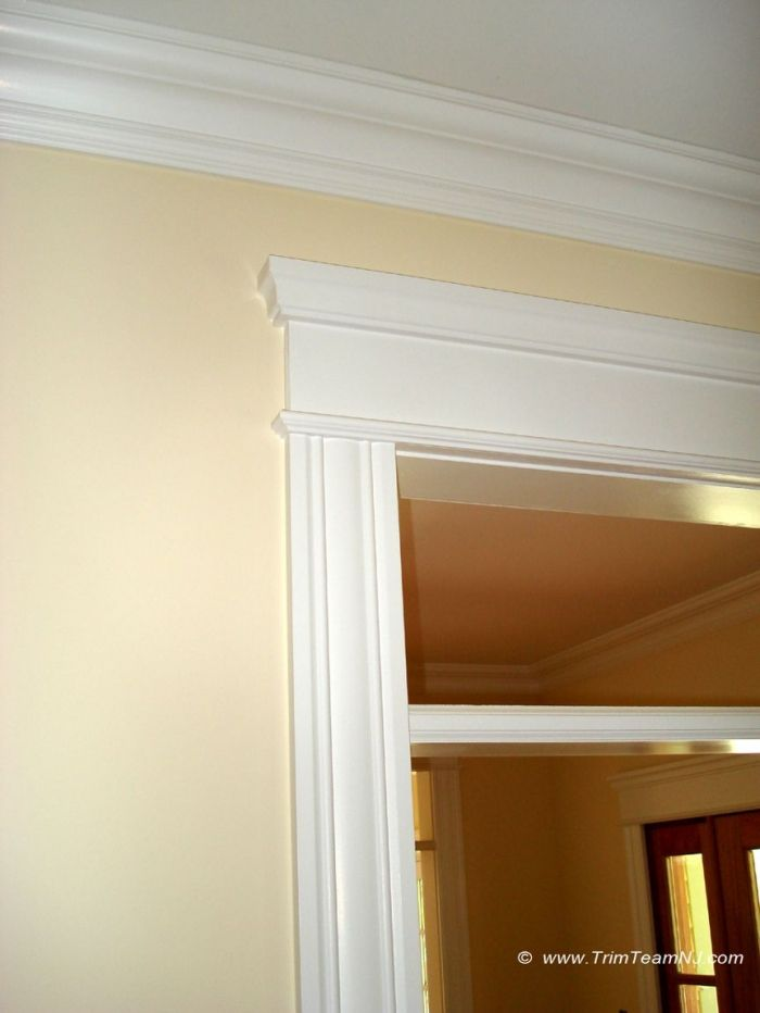molding around doors