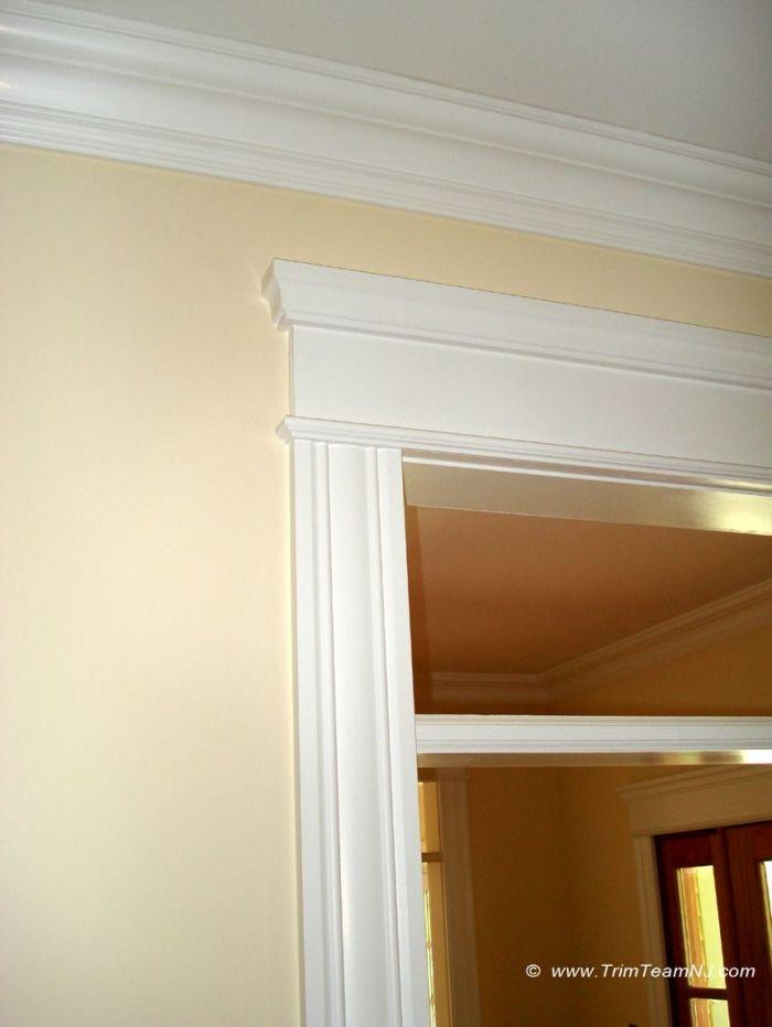 molding around doors | 081. Crown molding and trim around ...