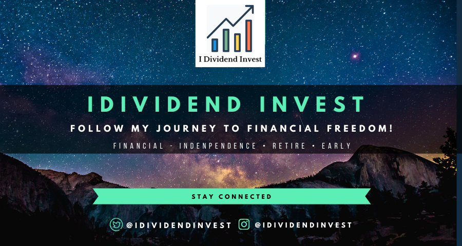 Follow My Journey To Finacial Freedom Finacial Dividend Investing Financial Independence Retire Early