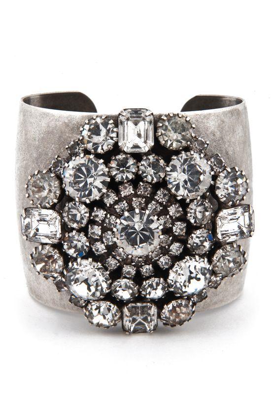 #jewelry #rings jewelry rings diy Dannijo Anya Cuff