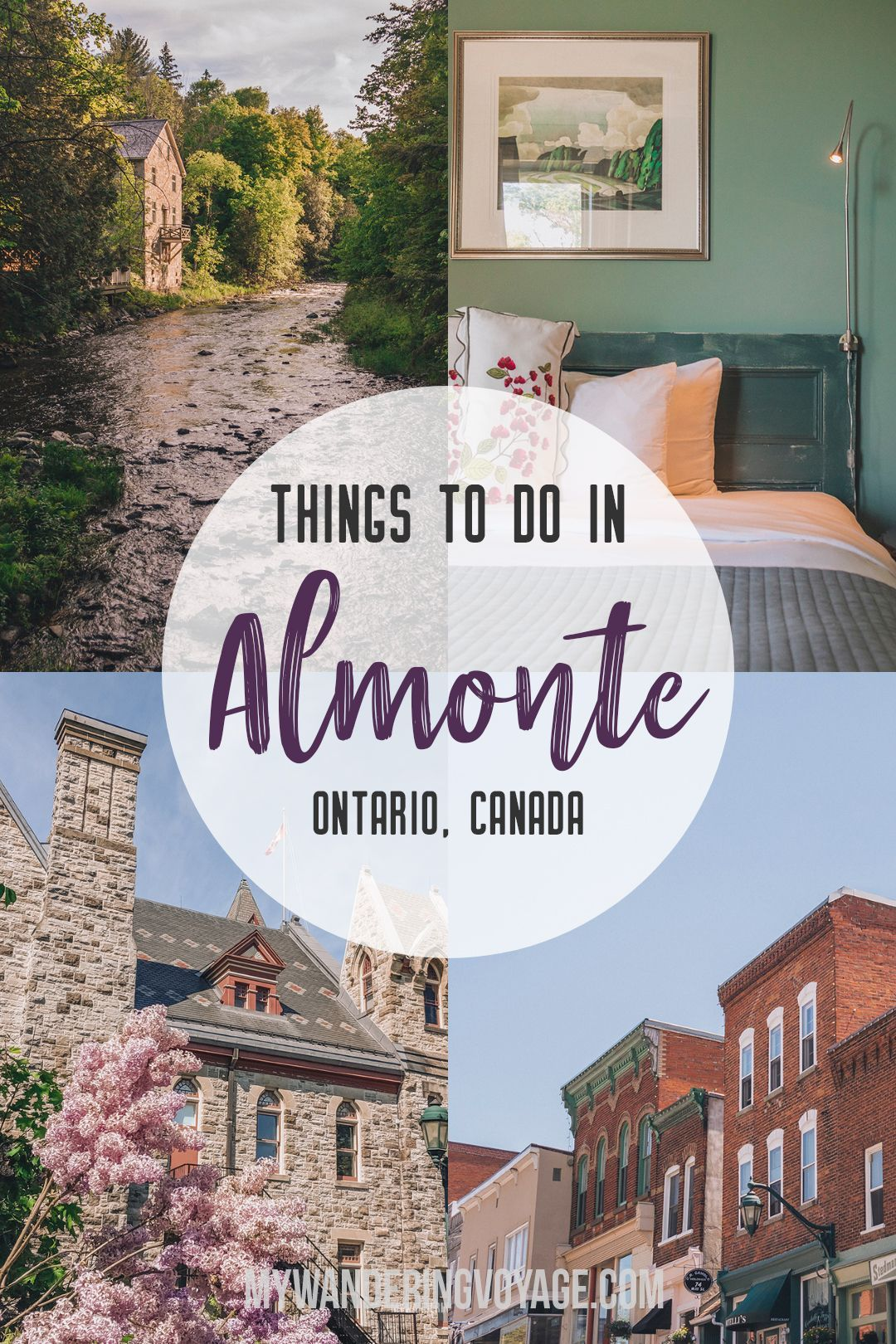 Discover the best things to do in Almonte Ontario for a perfect Canadian summer weekend. | My Wandering Voyage travel blog #AlmonteOntario #Ontario #Canada  #style #shopping #styles #outfit #pretty #girl #girls #beauty #beautiful #me #cute #stylish #photooftheday #swag #dress #shoes #diy #design #fashion #Travel