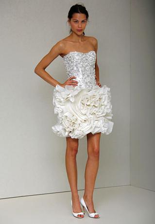 Monique Lhuillier - Bridal - Spring 2011