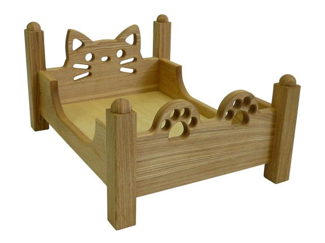 Time In Heart Rakuten Global Market Wooden Bed New Cat Bed Cat Box Amp Is A Possible New Cat Bed Wooden Cat Kitten Decor Cat Bed Furniture