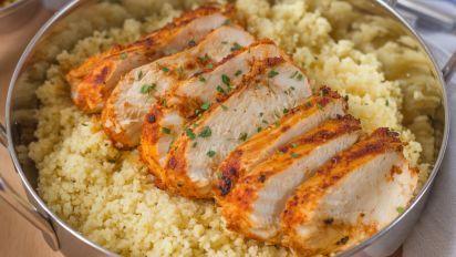 George Foreman Grilled Tandoori Chicken Recipe - Genius Kitchen #tandoorichicken