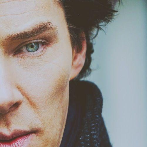 Ben has the most beautiful eyes I swear.  #sherlock #benedictcumberbatch