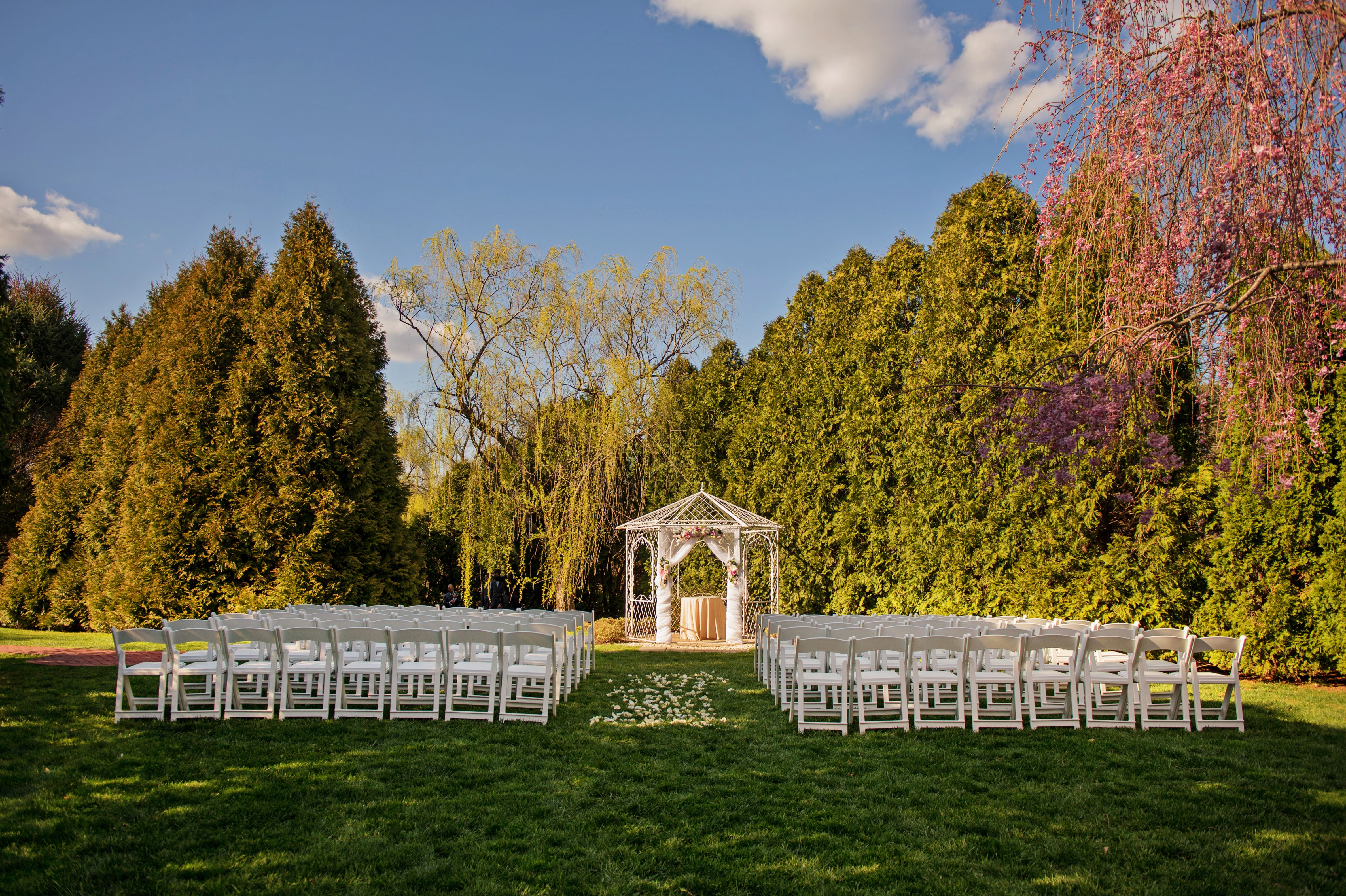 Our 2018 Ceremony Sight Will Be Getting An Upgrade For 2019 Wilmington Delaware Wedding Home Wedding Wedding Venues Wedding