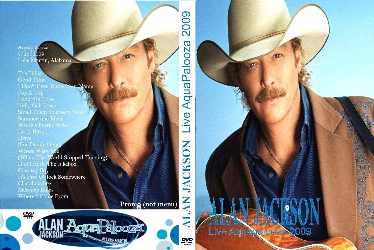 Alan Jackson Live At Aquapalooza 2009 Dvd Cantores