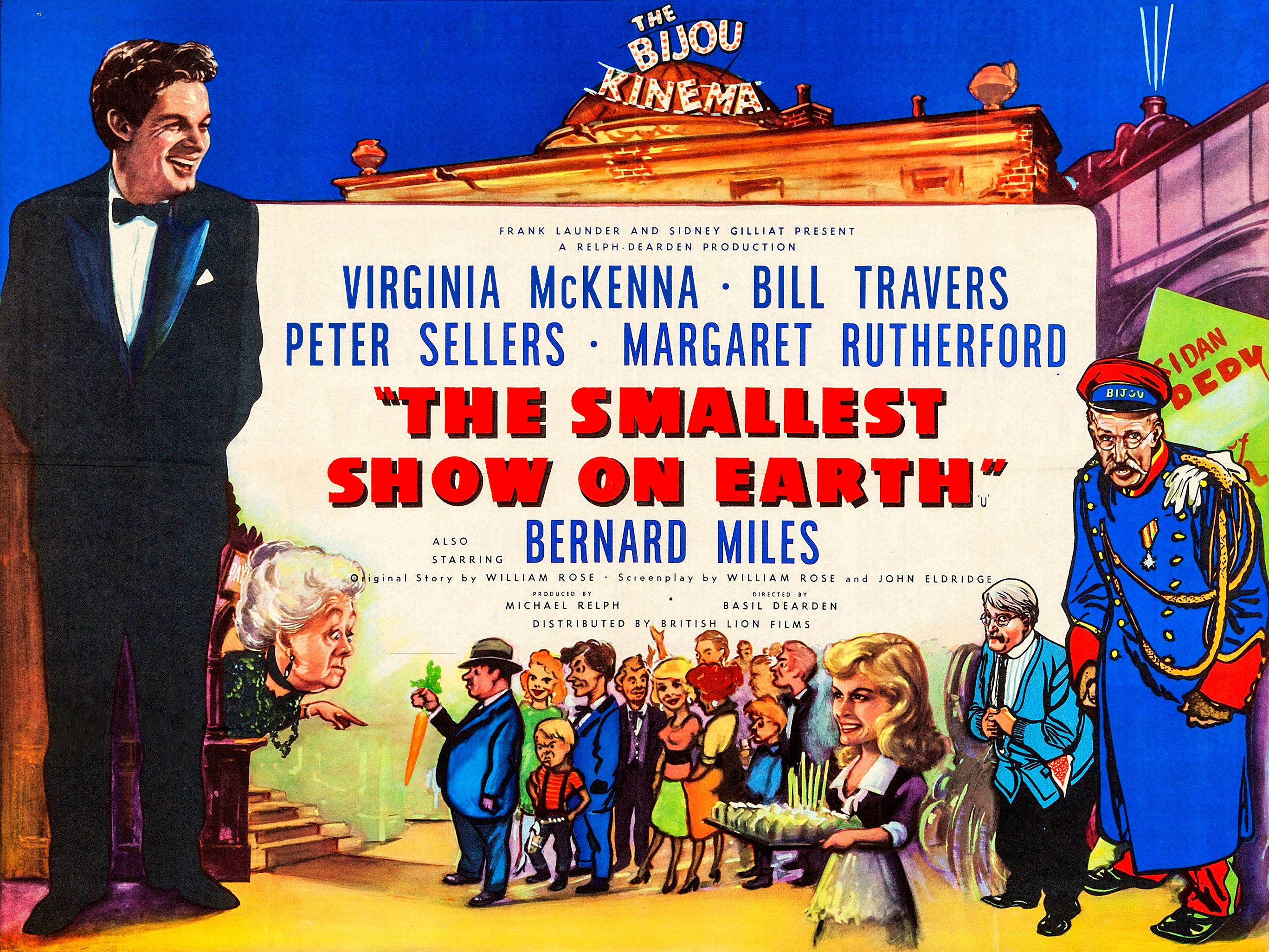 The Smallest Show on Earth (1957)   Classic films posters, Best movie  posters, Classic films