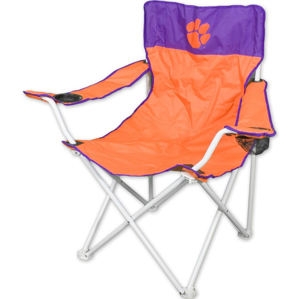 giant folding chair brown leather desk clemson tigers 39 39big boy tailgating