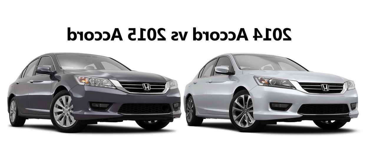 Honda Accord 2014 Vs 2015 Honda Accord Honda Accord