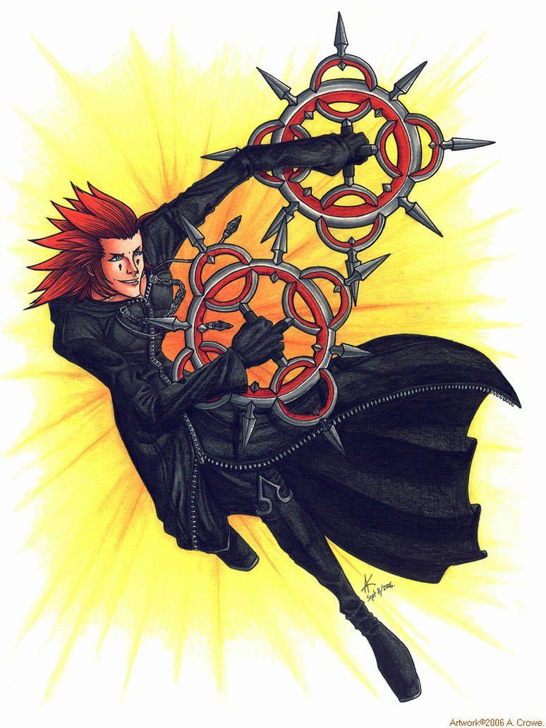 Axel Kingdom Hearts   Axel kingdom hearts, Kingdom hearts