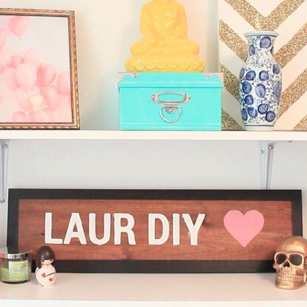 Laurdiy Calendar : Diy brandy melville wooden sign materials