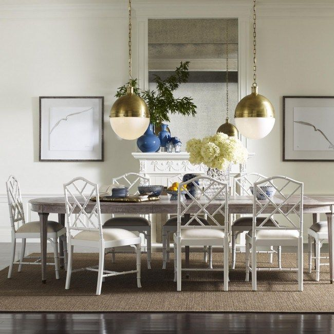 Superieur White Chippendale Chairs