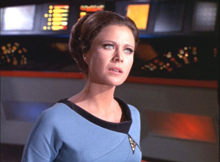Jan Shutan as Lt  Mira Romaine in the original Star Trek