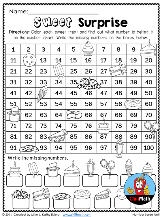 First Grade Math Unit Number Sense is part of First grade math - This unit is packed with fun and engaging activities that cover most skills taught in a Number Sense unit for First Grade Math  All printables in this unit are readytogo (NO PREP needed!) which will save you a lot of time in the classroom  Talking about timesavers, we also made it easier for you