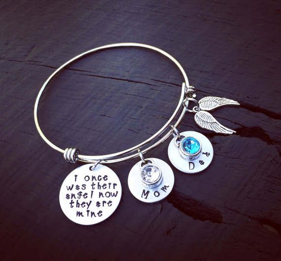 Memorial Bracelet Mom Child Memorial Bangle Urn Dad Cremation Ashes Remembrance Jewelry Personalized Bracelet Sympathy