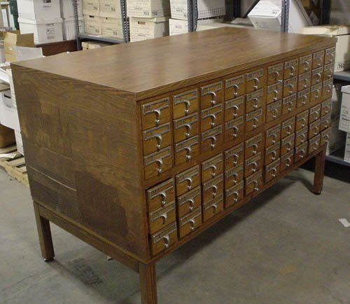 Good Question: How to Repurpose Old Card Catalogs?