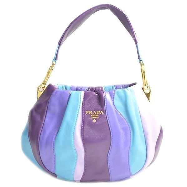 dbfc3a668d4745 ... low cost prada violet nappa stripes multicolour mini hobo bag 181 liked  on polyvore 6d256 b9c2d