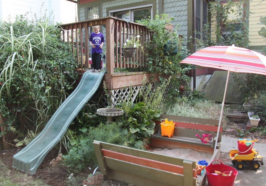 Slide Off The Deck Doing This Toddler Days And When