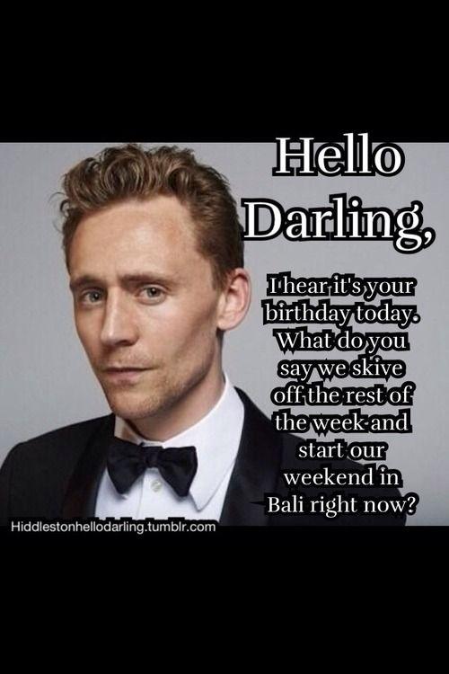 cfac91c2d7502943d1618098f3a35fc1 hello darling meme tom hiddleston hello darling