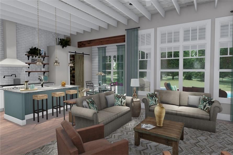 home plan  image great room also new house in rh pinterest