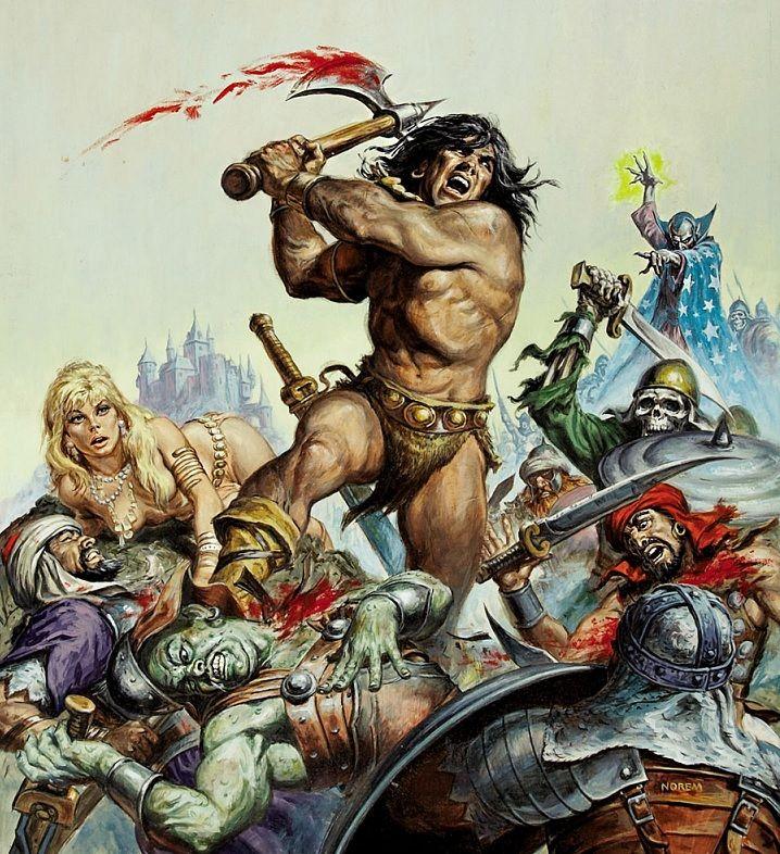 ¡Por Crom! 'La Espada Salvaje de Conan'