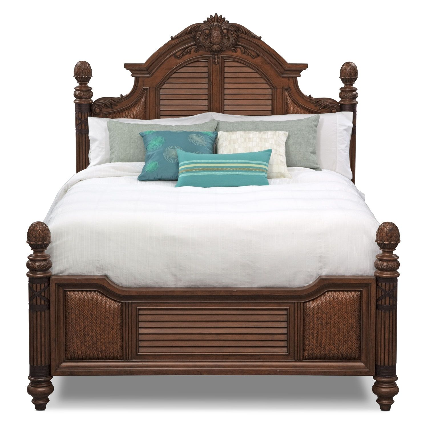 Key Largo King Bed Value City Furniture For The Home