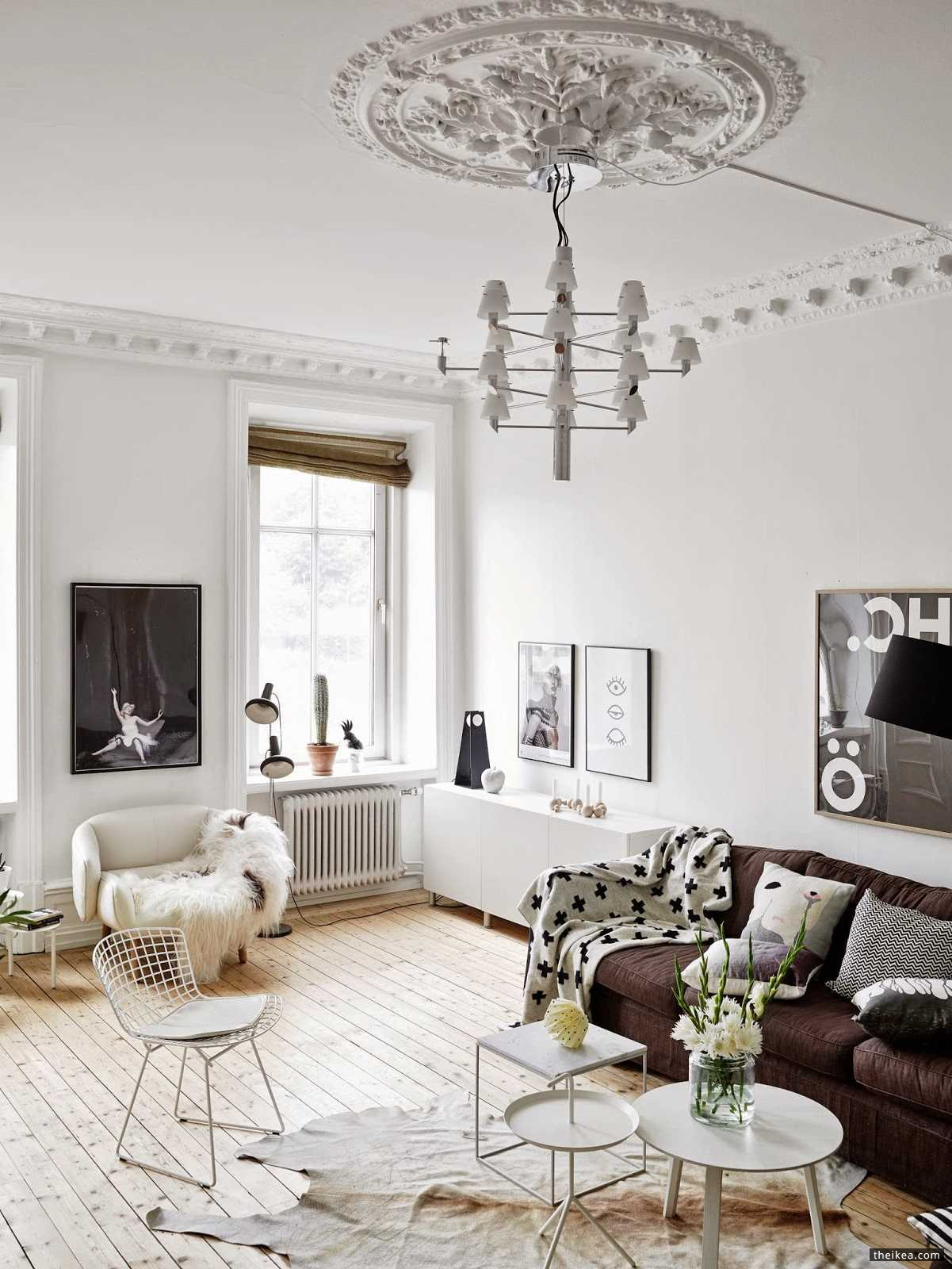 A Wonderful Swedish Apartment In Neutrals - http://www.theikea.com/home-design-ideas/a-wonderful-swedish-apartment-in-neutrals.html