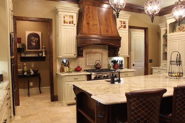 This beautiful yet highly functional kitchen was completed in late