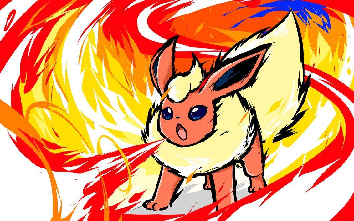 Flareon Fire Spin by ishmam on DeviantArt Pokemon