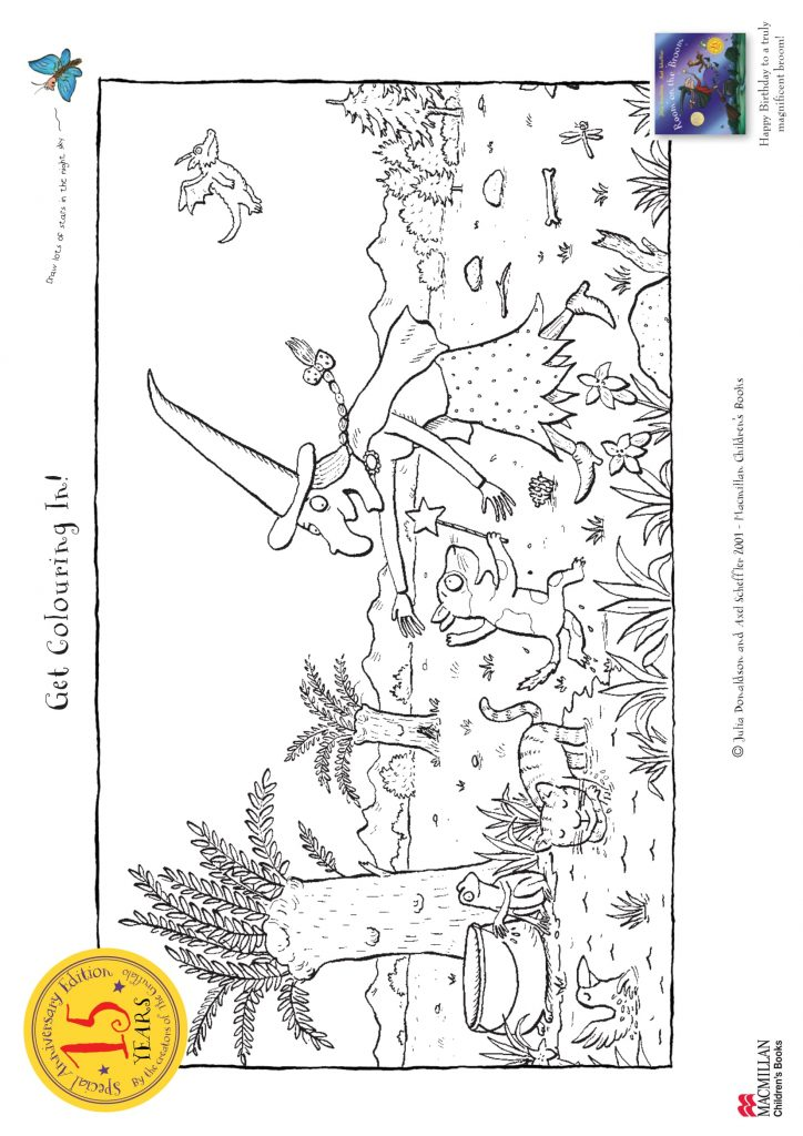 Check out these fun Room on the Broom Printable Activities