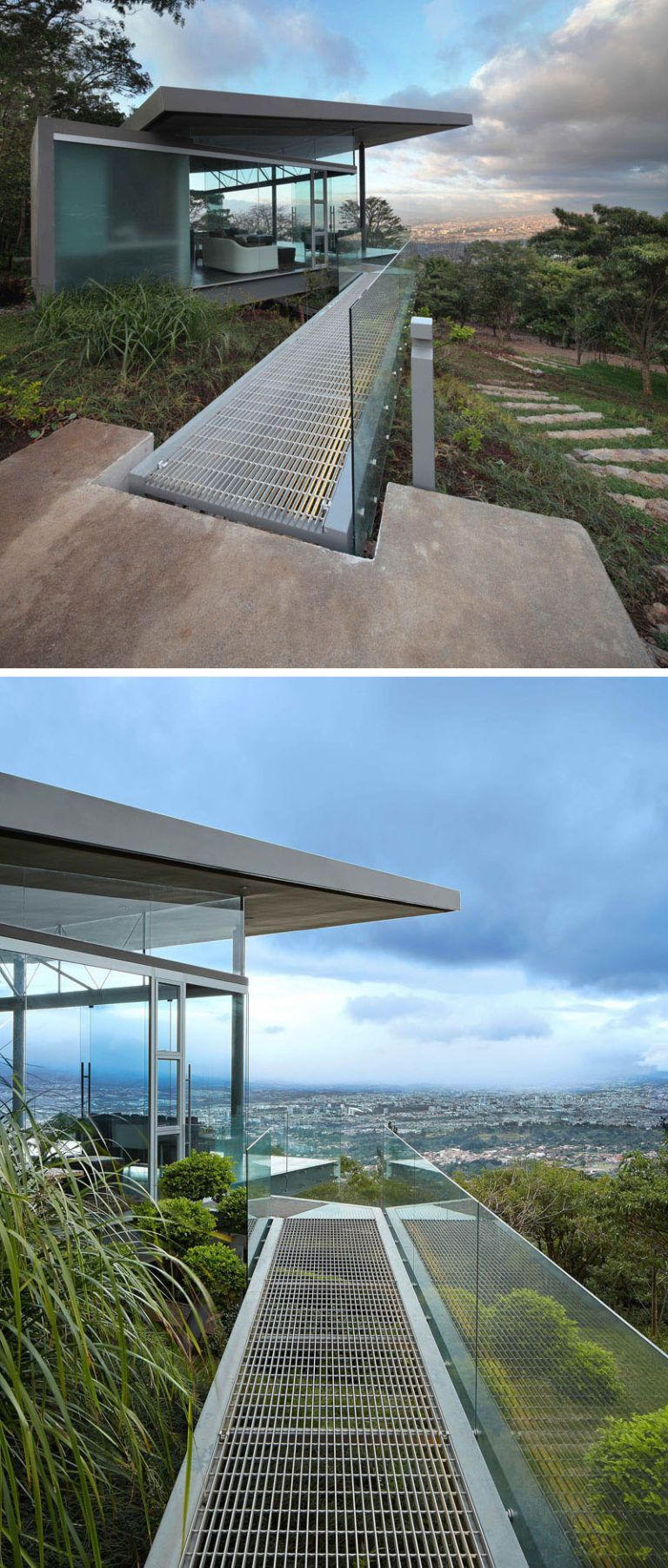 This Room Designed For Entertaining Enjoys Amazing Views Of The City Below