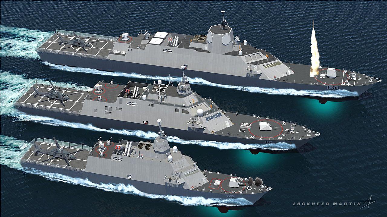 Lockheed Ship Concepts Mmcs Multi Mission Combat Ships