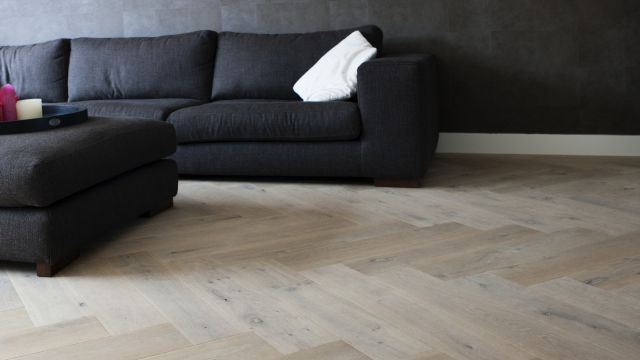 Visgraat vloer op vloerverwarming interieur pinterest vans