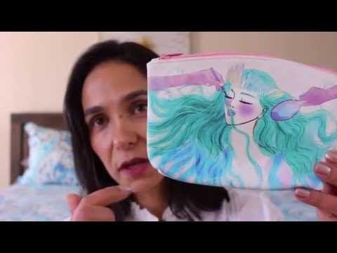Vídeo em Português -Review Ipsy Glam Bag de Agosto - Love It!!! By Andrea