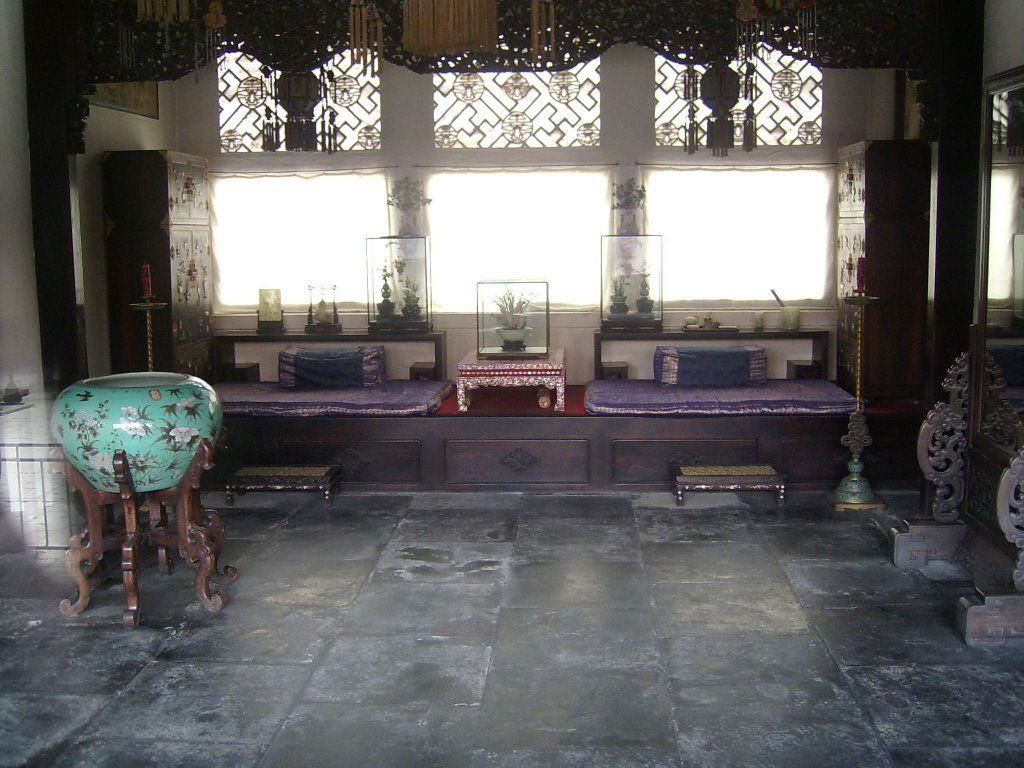 Interior shot Forbidden City, Beijing.