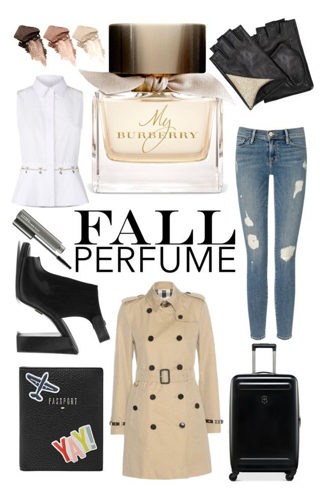 """""""Fall Perfume"""" by xoxo-camellia on Polyvore featuring beauty, Burberry, Frame Denim, Alexander Wang, Michael Kors, Victorinox Swiss Army, FOSSIL, Urban Decay, MAC Cosmetics and Karl Lagerfeld"""