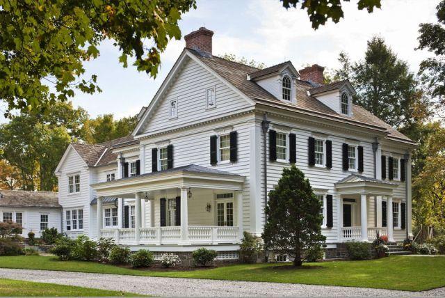 47 New England Colonial Home Exterior silahsilah.com/…