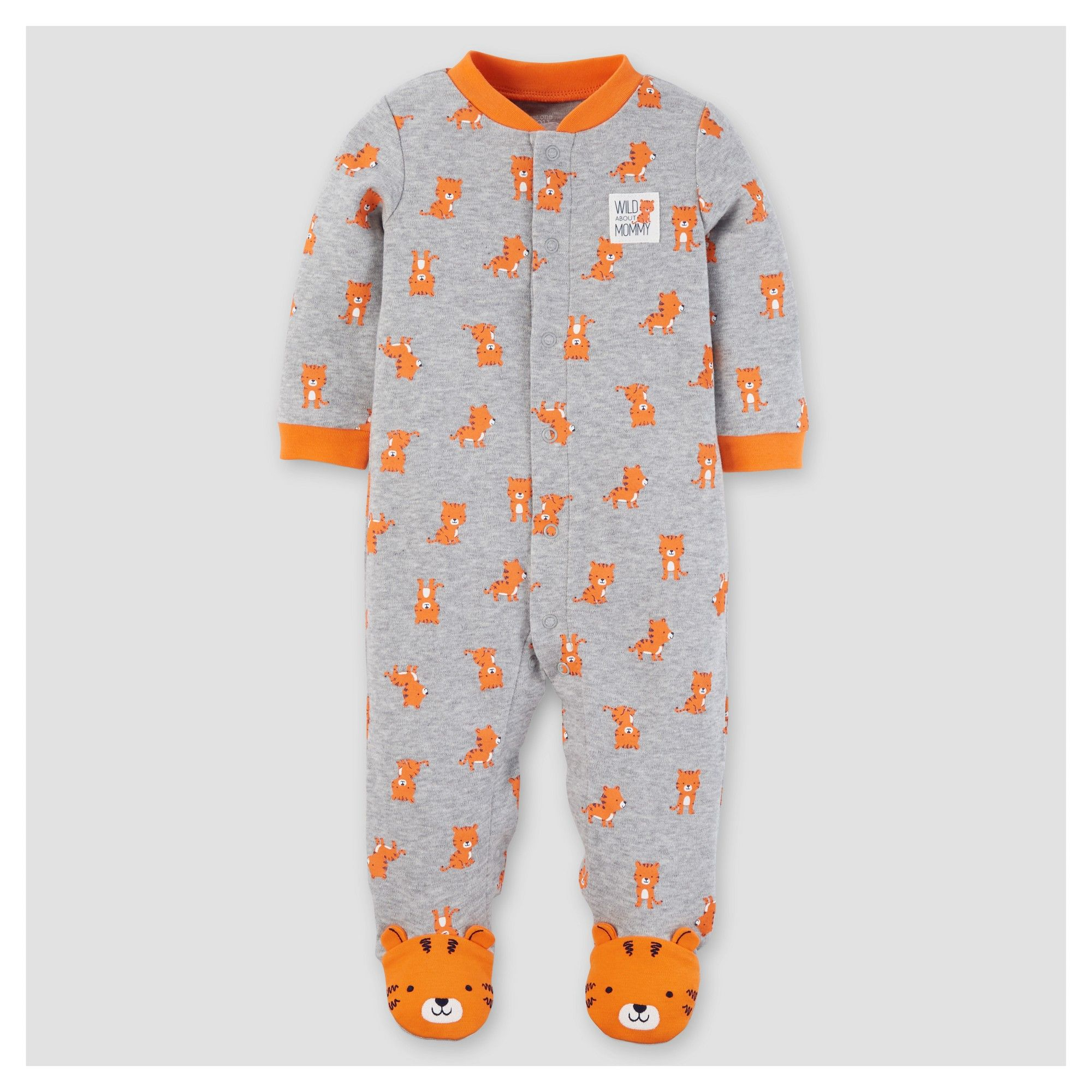 Baby Boys Cotton Tiger Sleep N Play Just e You Made by