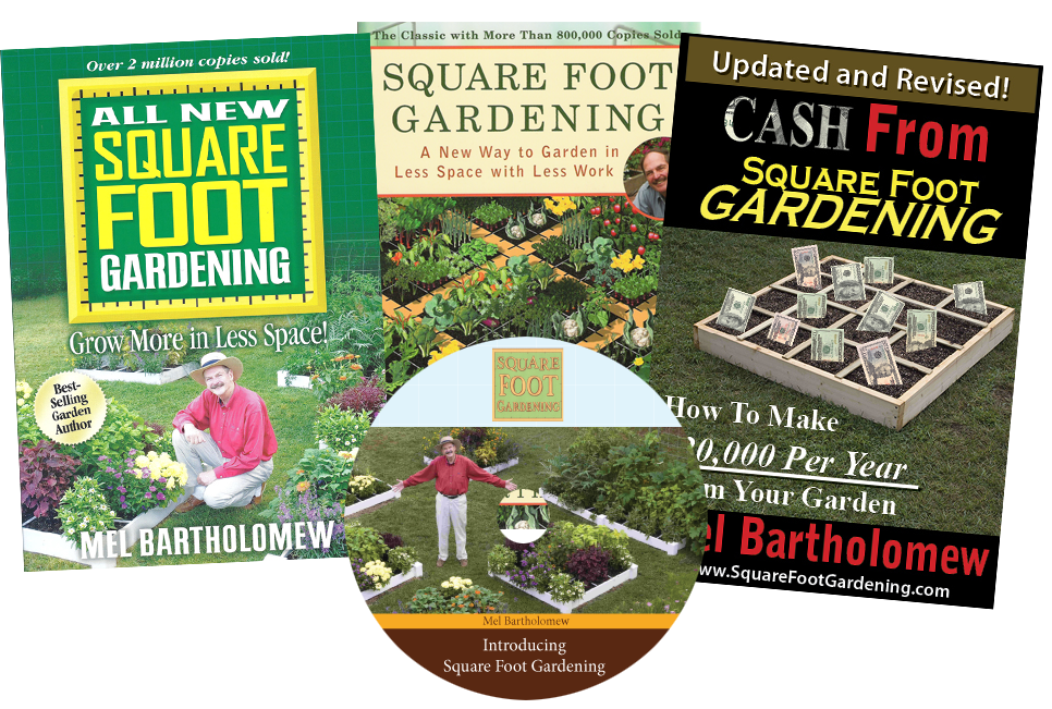 Sfg Books Materials With Images Square Foot Gardening