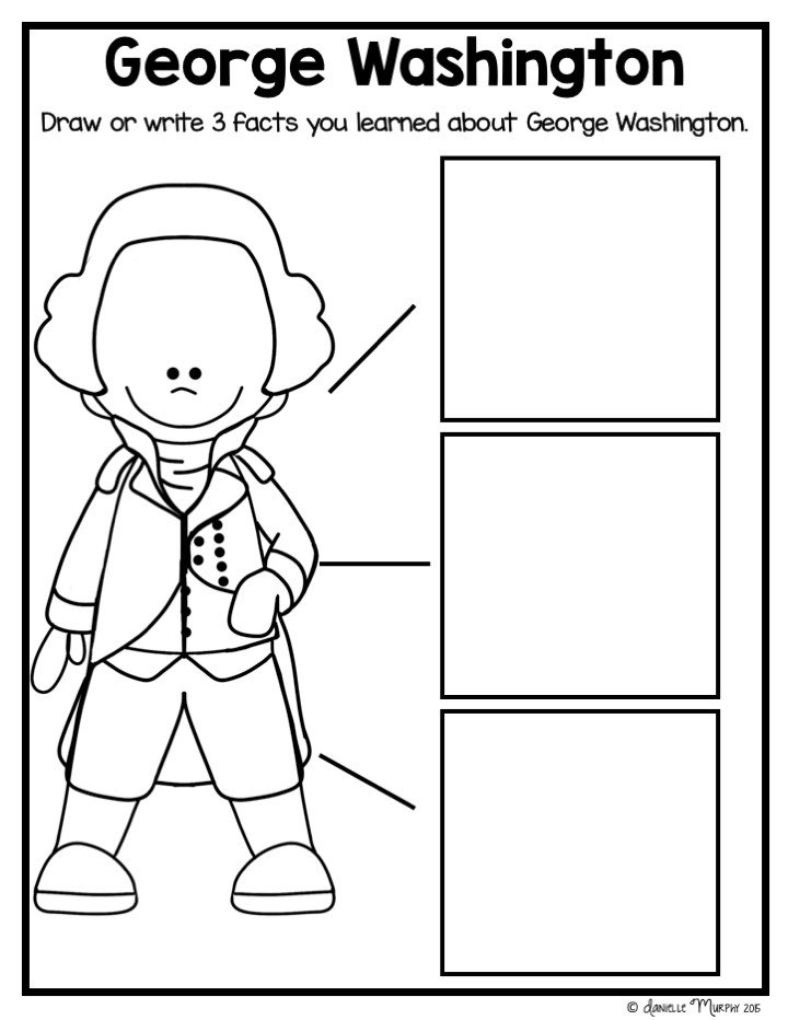 George Washington Unit for President's Day | Teaching ...