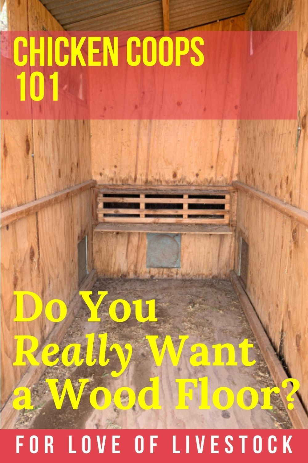 8 Chicken Coop Floor Options The Best Flooring Materials For Your Coop In 2020 Cute Chicken Coops Coop