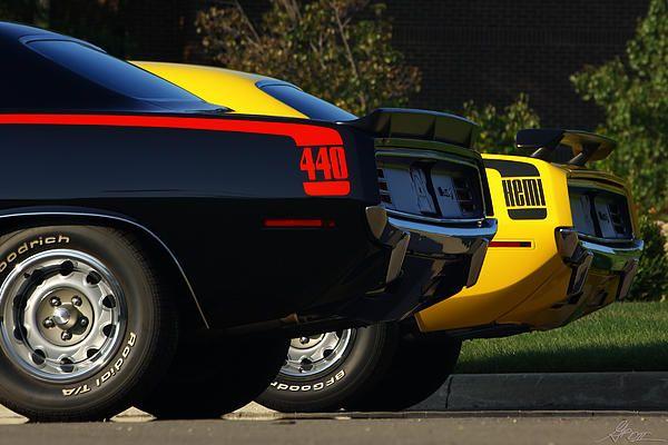 1970 Plymouth Cuda's HEMI & 440
