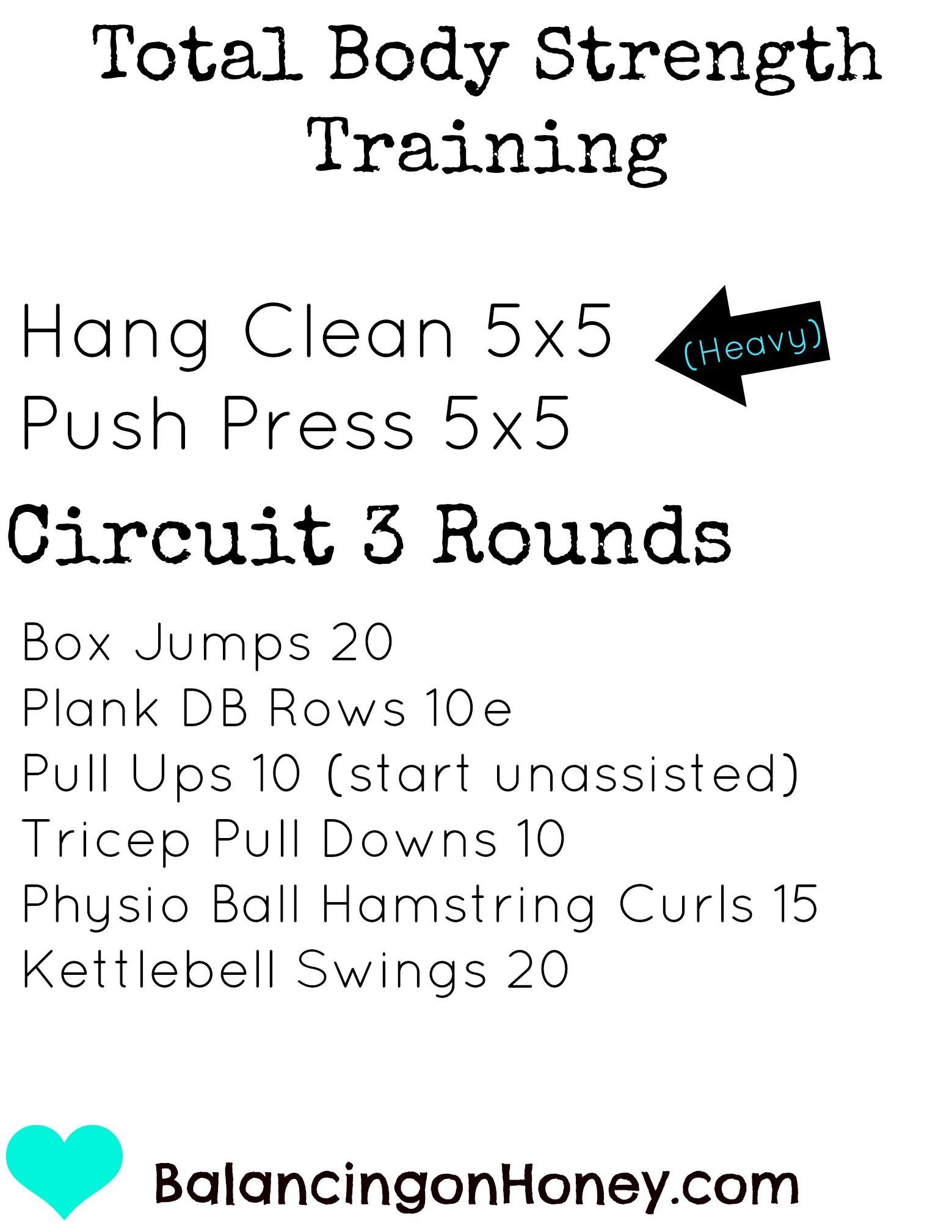 Total Body Strength Training