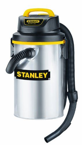 Stanley Sl18132 3 5 Gallon 4 Peak Hang Up Series Horsepower Wet Or Dry Vacuum Cleaner With Wall Mounted St Wet Dry Vacuum Garage Storage Systems Storage Design